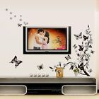 Flower Butterfly Wall Art Decal Vinyl Stickers Home Decor Mural DIY Removable