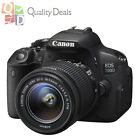 NEW Canon EOS 700D / Rebel T5i + 18-55mm IS STM SLR Camera w/ 1 Year Warranty