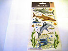 Scrapbooking Stickers Sticko Sharks Tiger Great White Hammerhead Fish Star More