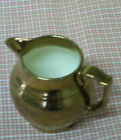 Vintage Copper Luster Ware Creamer Gray's Pottery Stoke on Trent England