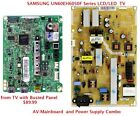 SAMSUNG BN94-05549J Mainboard & POWER Supply combo from LCD TV Busted Panel