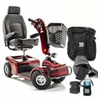 Shoprider Sunrunner 4 Wheel Scooter Mobility 888B 4 with FREE ACCESSORIES