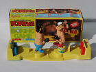 EXTREMELY RARE 1981 HAND OPERATED POPEYE vs BRUTUS KNOCKDOWN BOXING GAME MIB!!