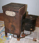Vintage NU-WAY Camp Heating Stove For Wall Tent ice fishing hunting camping