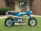 Honda : Other Honda CT70 - 1971 Model - Mini Trail - One Owner - 1/71 Candy Sapphire Blue