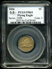 1856 1C Flying Eagle Cent PR61 PCGS S-3