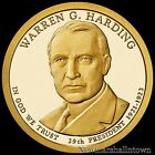 2014 S Warren G. Harding Presidential Proof Dollar ~ Coin from US Mint Proof Set