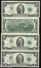 100% Real Rare US USA Two $2 Dollar Bill Unc Money Mint Currency Bank Note Lot