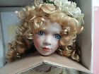 "Colette Porcelain Collector 28"" Doll From The William Tung Designer TUSS B079"