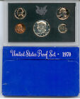 1970-S US PROOF SET  5 COINS - silver kennedy  #827a