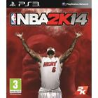 NBA 2K14  (Sony Playstation 3, 2013) used with manual tested plays great