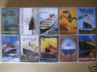 COLLECTOR ITEM QUEEN MARY TITANIC WHITE STAR LINE LOT OF 10 ASSORTED MATCH BOXES