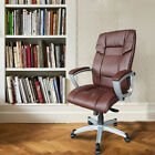New PU Leather Ergonomic Chair Office Task Executive Computer Desk High Back