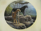 The Jaguar 1st in Great Cats of the Americas Collector Plate 1989