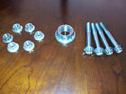 Yamaha R1 R6 Titanium Rear Axle nut, front caliper bolts and sprocket nuts