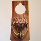 Labyrinth Faux Door Knocker Sign Hanger Muppet Jim Bowie David Henson Musical