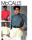 McCall's Vintage 8901 3 styles Sophisticated Blouses Size 12 Uncut