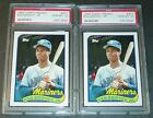 LOT OF (2) 1989 KEN GRIFFEY JR TOPPS TRADED ROOKIES #41T PSA 10 MARINERS