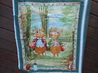`Fabric 1 Baby Quilt Top Panel Beatrix Potter Pigling Bland Alexande