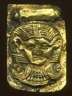 300 B.C. EGYPTIAN GOLD COMMEMORATIVE PLAQUE w/ Certificate of Authenticity