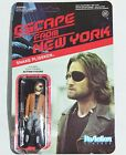 NEW Escape from New York Snake Plissken ReAction 3 3 4-Inch Action Figure