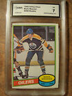 Mark Messier rc rookie O-Pee-Chee OPC #289 1980-81 NM 7 card by GMA