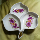 VINTAGE OLD NUREMBERG - 3 SECTION RELISH / CANDY DISH -