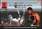 2011 Leaf Boxing MUHAMMAD ALI METAL Hobby BOX AUTO Autograph Relic? Prismatic