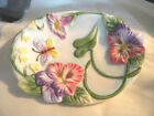 DECORATOR COLLECTION FITZ AND FLOYD HALCYON HANDCRAFTED CHINA SOAP DISH BATH