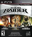 NEW  Tomb Raider Trilogy  (Sony Playstation 3, 2011)  w/ Fast Shipping