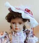 Cathay Collection Porcelain Victorian Style Doll 1-5000 Lavender