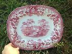 Set of Vintage Clarice Cliff Royal Staffordshire Red