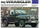 1987  and  up  JEEP  WRANGLER   FACT SHEET  -  9
