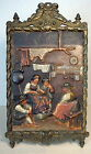 Bradley Hubbard Antique Cast Wall Easel Art Plaque Country Home B