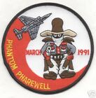 457th TFS PHANTOM PHAREWELL 1991 patch