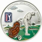 Cook 2014 TOUR - Golf Bag 5 Dollars Colour Silver Coin,Proof