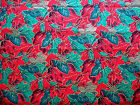 Christmas Print by Hoffman Quilt Cotton Fabric by HY