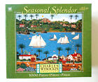 Charles Wysocki 49725 B08 OLD CALIFORNIA Seasonal Splendor 100% Completed Puzzle