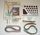Lot Quilling FRINGER Cork Board TOOLS BOOK  Loose PAPER 100 VALUE
