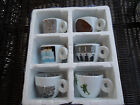 """ILLY Bar Set of Espresso Cups """"P.S.1"""" 2001"""