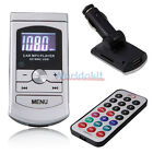 New Hands-Free with Built-in Microphone Car MP3 Player FM Transmitter Silver