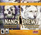 Nancy Drew Legend of the Crystal Skull/The White Wolf of Icicle Creek