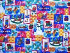 100% Cotton Quilt Fabric Let It Snow by Hoffman International by HY
