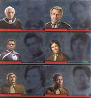 BATTLESTAR GALACTICA COMPLETE 2004 COLONIAL WARRIORS INSERT SET CW1 TO CW9