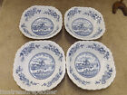 Johnson Bros Ironstone Blue White Tulip Time 4 Cereal Bowls - buy up to 4 sets/4