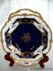 VTG GERMAN FINE CHINA REICHENBACH PORCELAIN ECHT KOBALT COBALT FRUIT/CANDY BOWL1