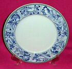 VILLEROY & BOCH CORDOBA BLUE BIRD DINNER PLATE GREEN SWITCH 3