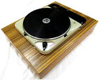 Beautiful Thorens TD124, Mk1 124 turntable.SME 3009 cut out. Made in switzerland