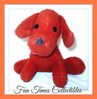 "10"" Animal Fair Inc  Plush Vintage Reddish Brown Puppy Dog Toy Stuffed Animal"