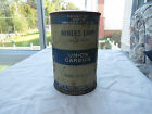 Antique Vintage Union Carbide Miners Lamp Tin Can Nice Collectible